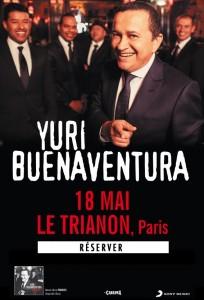 Yuri Buenaventura Trianon 18 mai