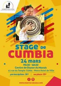 Pasantía de Cumbia 24 marzo 2019