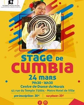 Internship of Cumbia 24 March 2019