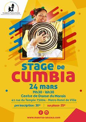 Stage de Cumbia 24 mars 2019
