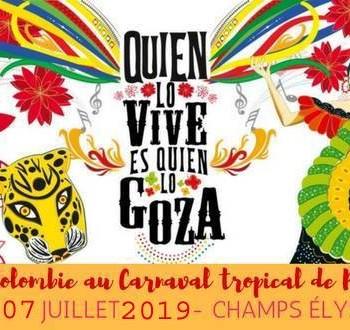 Tropical Carnival of Paris 2O19.